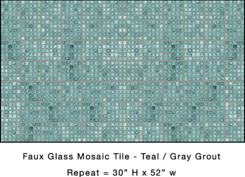 tiling a bathroom faux glass mosaic tile 14748