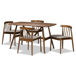 Midcentury Dining Sets by Baxton Studio