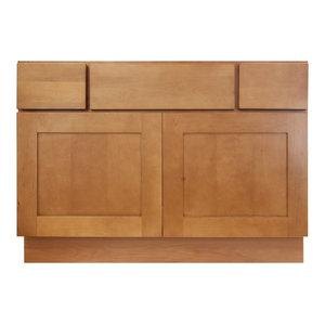"""Newport Vanity Sink Base Cabinet, 42""""x21""""x34.5"""""""