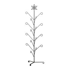 Wrought Iron 8 Pair Mitten and Boot Holder