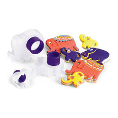 Cuisipro Zoo Cookie Cutters, Purple