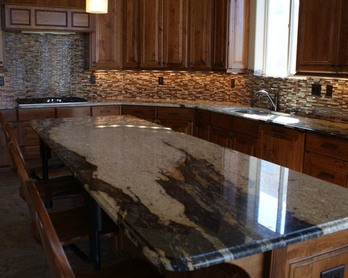 ... River Granite Countertops On Seafoam Green Granite Kitchen, Torroncino  Granite Kitchen, River White Granite Kitchen ...