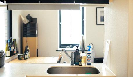 「お弁当女子」のキッチンは、世田谷のゆったり1Kにある
