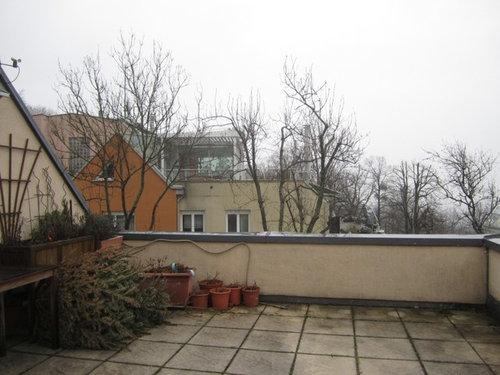Karge Terrasse Wird Zum Wohnzimmer Im Freien