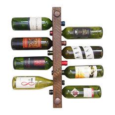 vetrina del vino wine rack tuscan 8 bottle high capacity wine racks - Wine Racks For Sale