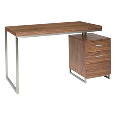Martos Desk, Brown by Moe\'s Home Collection - Fashion Home Office ...