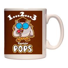 Brown Tootsie Pop Owl Mug