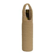 Mode Crochet Wine Bottle Wrap