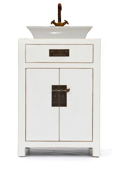 Muebles blanco decapado elegant aparador victoria blanco - Decapado de muebles ...