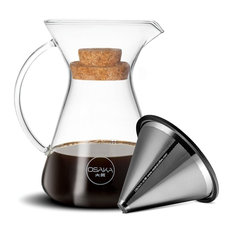 Osaka   Pour Over Coffee Brewer With Stainless Steel Cone Filter. Kiyomizu  Dera, 20