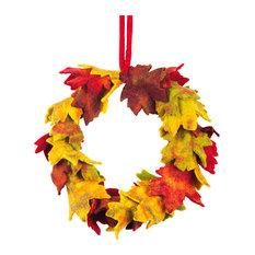 Felt So Good Autumnal Wreath