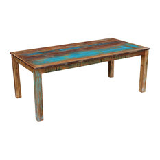 VidaXL Dining Table Solid Reclaimed Wood, 200x100x76 cm