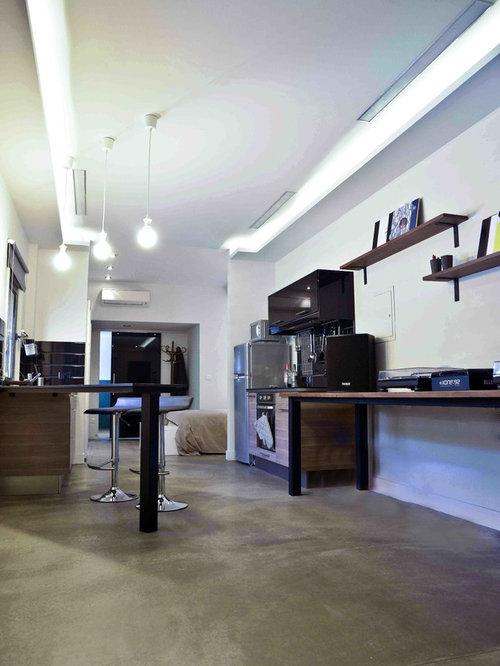dj 39 s industrial studio apartment