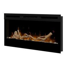 "Dimplex - Dimplex Driftwood Fireplace Log Insert 34"" - Indoor Fireplaces"