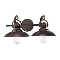 Capital Lighting O'Neal 2-LT Vanity 3792BB - Burnished Bronze