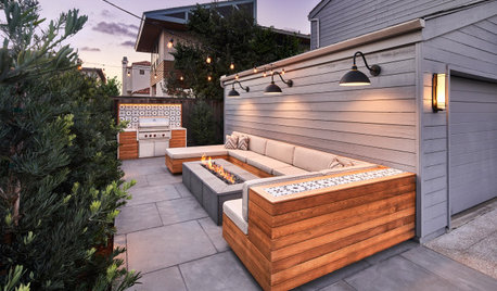 Patio of the Week: Former Trash Area Now a Luxe Outdoor Lounge
