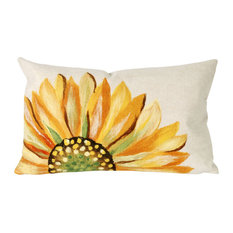 "Sunflower Yellow Pillow - 12""X20"""