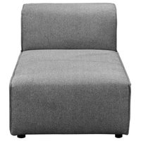 Rodeo Chaise, Charcoal Gray
