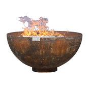 """Big Bowl O' Zen Sculptural Firebowl, 30"""""""