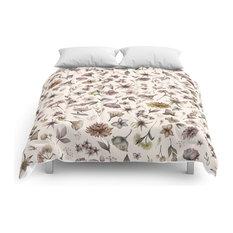 Botanical Study Comforter, King