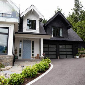 Modern Farmhouse - Garage