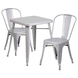 Industrial Outdoor Pub And Bistro Sets by GwG Outlet