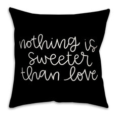 Nothing Is Sweeter Than Love Throw Pillow