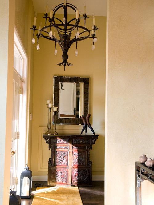 Asian Foyer Design : Asian entryway design ideas renovations photos with