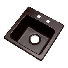 Westminster 2-Hole Bar Sink, Espresso