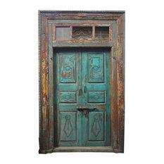 Alte Tür Mit Patina   Haustüren