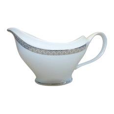 White Porcelain Gravy Boat