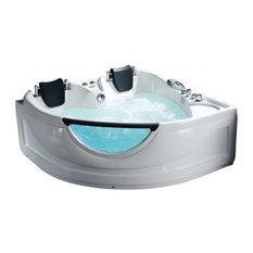 Serenada Corner Whirlpool Bathtub