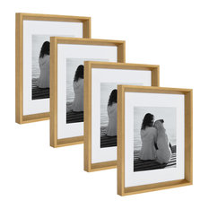 Calter Photo Frame Set, Gold 11x14 matted to 8x10