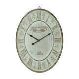 Large Cream Oval 'Kensington' Wall Clock