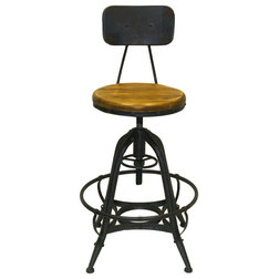 Industrial Bar Stools And Counter Stools by Pangea Home