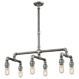 Industrial Chandeliers by LIGHTING JUNGLE