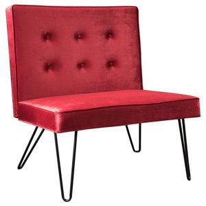 Gdf Studio Salazar Modern Design Accent Chair