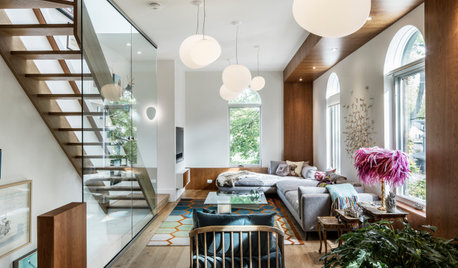 Houzz Tour: Townhouse in a 19th-Century Dairy Redesigned