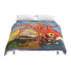 Society6 Milwaukee, What's Kraken, Milwaukee? Comforter, Full, 79x79