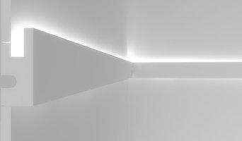 Veletta per illuminazione indiretta led da parete - EL301