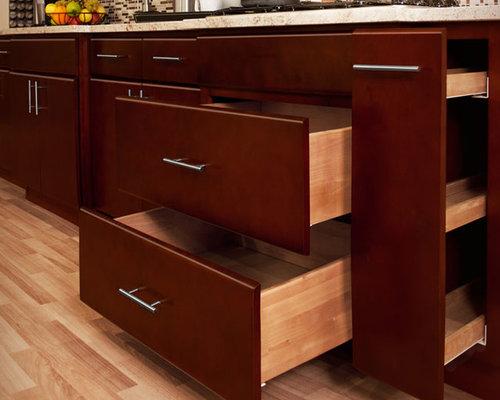 Villa cherry kitchen bathroom cabinets for Kitchen cabinets france