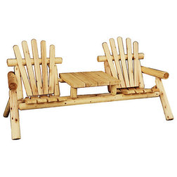 Rustic Adirondack Chairs by Motto's Cedar Products