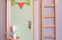 Green Magic Tooth Fairy Door by Parker J