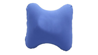 Worthy Blue Lumbar Travel Pillow