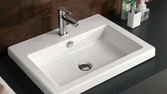 Beautiful Ceramic Bathroom Sinks By Tecla