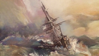 Stormy Seas for Reading Room