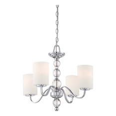 Downtown Chandelier, Polished Chrome