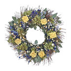 Yellow Rose Wreath, Small