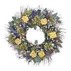 Yellow Rose Wreath, Small