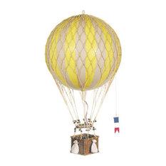 Royal Aero Decorative Hot Air Balloon, True Yellow